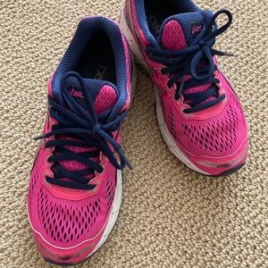 Asics Sports shoes size 5.5 pink